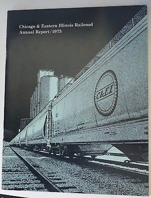 Chicago & Eastern Illinois Railroad 1973 Annual Report