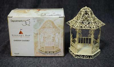 Department 56 Seasons Bay Garden Gazebo 53338 MIB