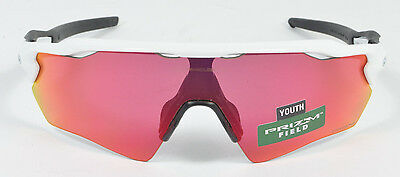 Oakley RADAR EV XS PATH Youth Polished White w/ Prizm Field OJ9001-0531 NIB