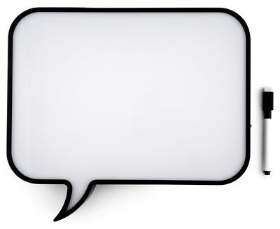 Speech Bubble Light Box - White/Black