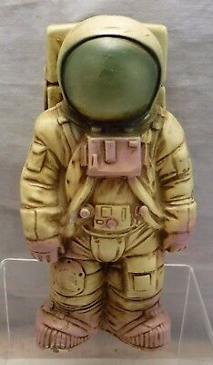 """Vintage MCM 7"""" Astronaut NASA Space Coin Bank Marked Japan"""