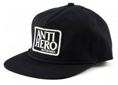 Anti Hero Reserve Patch Hat - Adjustable Black