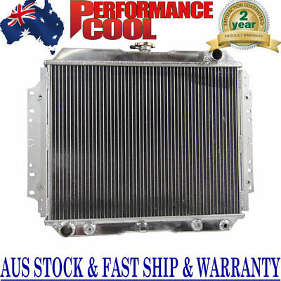 Aluminum Radiator For HOLDEN RODEO TF G3 G6 1987-1997 2.2L 2.6L PETROL AT/MT