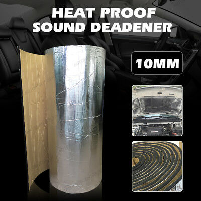 10mm Sound Proofing Heat Insulation Material Closed Cell Foam Foil Faced Camper