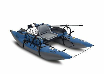 Classic Accessories Colorado XTS Fishing Inflatable Pontoon Boat with Swivel ...