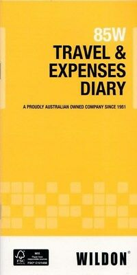 Wildon Travel & Expenses Diary 10x21cm 85W (33720)