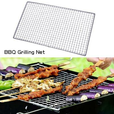 7 Size BBQ Barbecue Grill Stainless Steel Replacement Mesh Wire Net Outdoor Cook