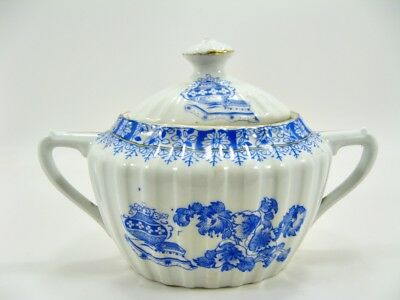 Bavaria - China Blau - Zuckerdose - Höhe ca. 11 x 17,5 cm (15)
