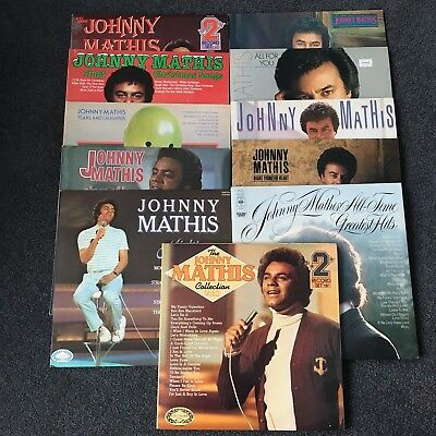Johnny Mathis Collection Of 11 Lps