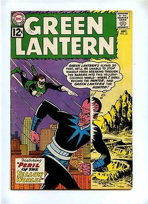 Green Lantern #15 - DC 1962 - VG+ - Vs Sinestro - Peril of the Yellow World