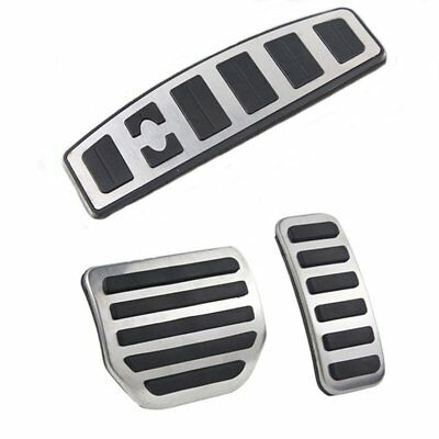 No Drill Fuel Brake Pedal Pad Cover Land Range Rover Sport LR3 LR4 DISCOVERY 3 4