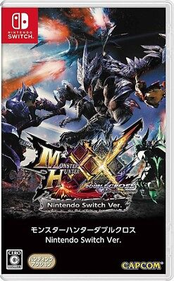 Monster Hunter XX - Nintendo Switch Game - Japanese version - Region Free
