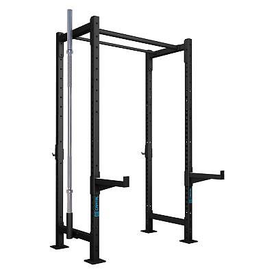 Power Rack Stazione Allenamento Palestra Push up Attrezzo Bilanciere Pesi Set 2