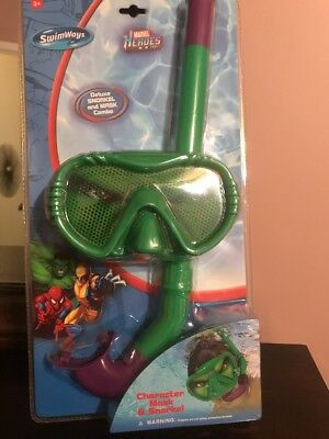 SwimWays Marvel Heroes Swim Mask and Snorkel