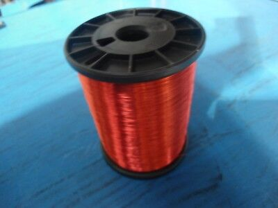 AWG 32 Copper Magnet Wire SPN 155 Red/ Weight(4 spools @ 2.5 lbs each)