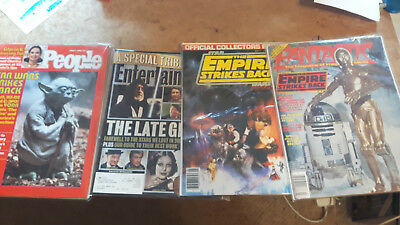 4 Star Wars-related magazines