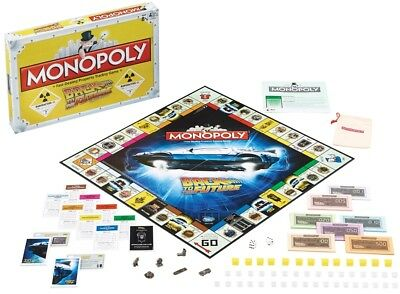Back to the Future Monopoly Game Board, Fast-dealing Property Trading Game