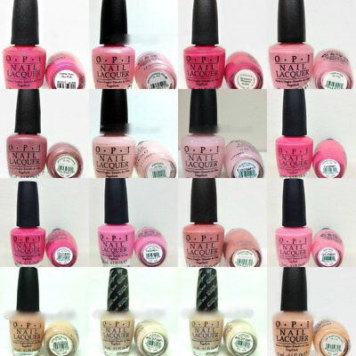 OPI Nail Lacquer - BREAST CANCER AWARENESS Collection - Choose Any Shade 0.5oz