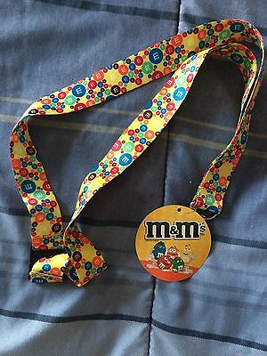 M&M's® OFFICIAL LICENSED BREAKAWAY LANYARD ID NEW WITH TAG Keychain key ring