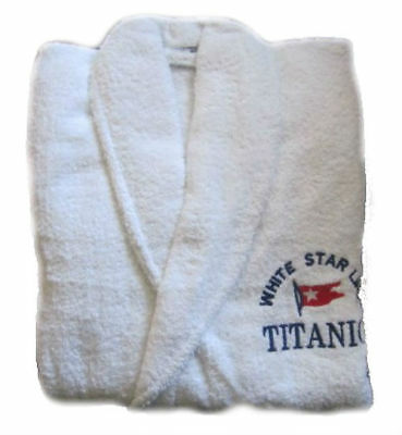 New Titanic First Class Passenger Courtesy Bath Robes Collectors Item Cp Made
