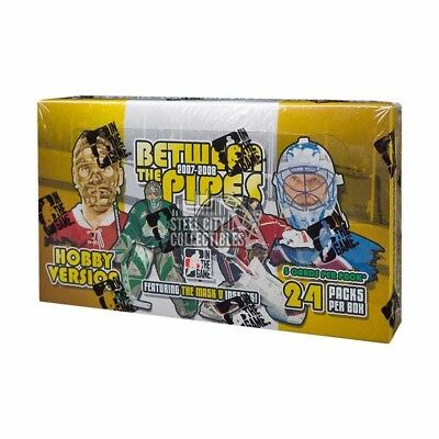 2007-08 In The Game Between the Pipes Hockey Hobby Box