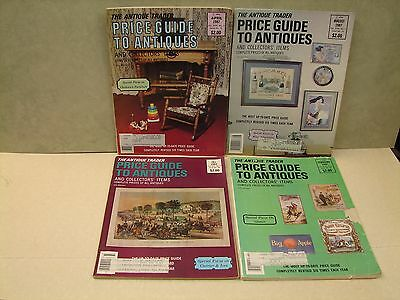 Lot of 4 Price Guide to Antiques, (Antique Trader) 1-83 & 3-87 See List  (DBE)