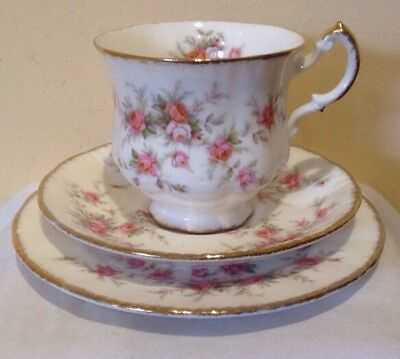 Paragon Tea Trio- Victoriana Rose