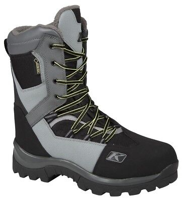 Klim Adrenaline GTX Snowmobile Boots Dark Grey Mens All Sizes