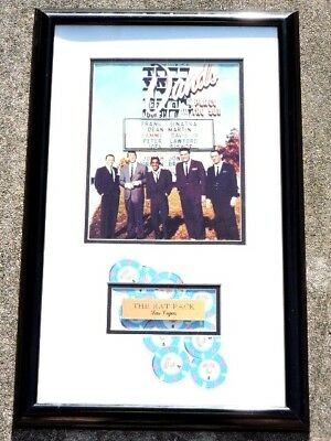 "The ""rat Pack"" Unsigned Photo Framed"