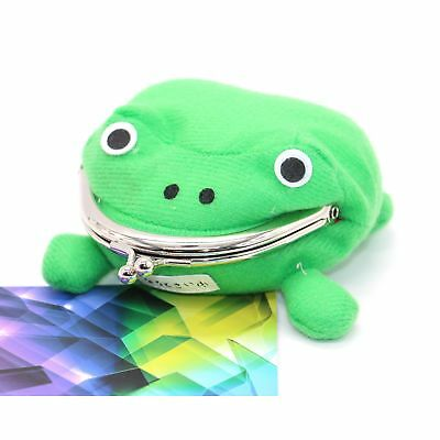 IDS Cute Green Frog Coin Bag Cosplay Props Plush Toy Purse Wallet