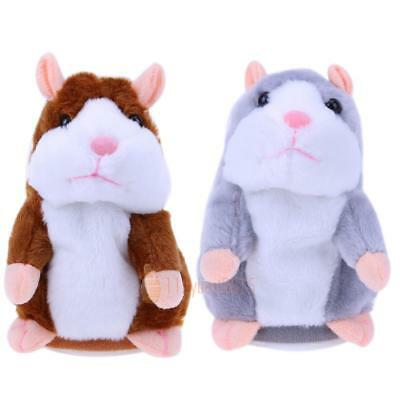 Kids Cute Talking Hamster Mimicry Pet Plush Toy Speak Talking Sound Record Gift