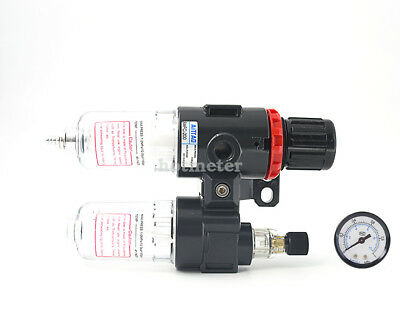 AFC-2000 Air Source Treatment Combination Unit w Pressure Gauge