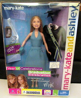 "MARY-KATE and ASHLEY DOLLS- Mary Kate ""GRADUATION CELEBRATION"" -2004 -NIB"