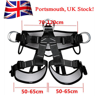 Pro Tree Carving Fall Protection Rock Climbing Equip Gear Rappelling Harness UK