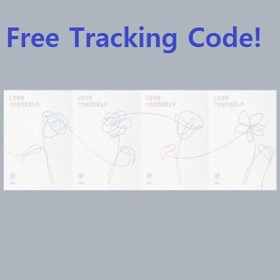 BTS-[Love Yourself'Her']5th Mini Album 4SET CD+BTS Poster+Book+etc+Gift+Tracking