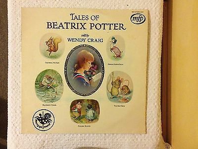 Tales of Beatrix Potter LP told by Wendy Craig - 1971