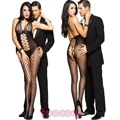 Bodystocking donna tutina overall catsuit listini lingerie intimo nuovo DL-2058