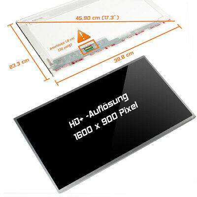 "17,3"" LED Display Screen glossy 1600x900 Acer Aspire ES 17 ES1-732"