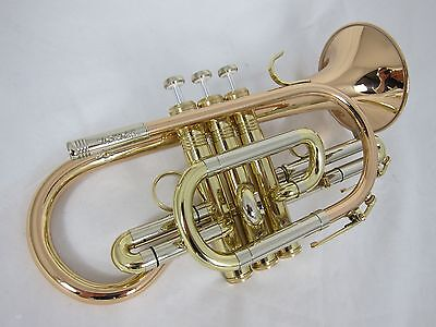 Amati Vantage Large Bore Bb Cornet - Lacquer (new instrument)
