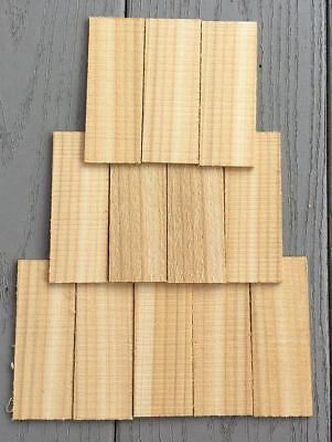 CEDAR ROOFING Shake Shingles For BIRD HOUSES - 50 Pc. / Doll House / Kits Crafts