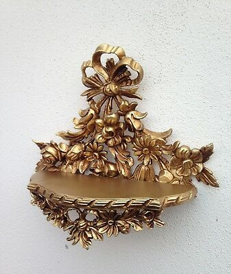 Wall Console Antique/Spiegelkonsolen/Baroque Gold Decor Shelf B :3 5cm cp83