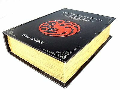 Game Of Thrones House Targaryen Storage Book Box Home Organiser Toy Gift Present