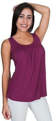 NEW! My Bella Mama™ Parisienne Nursing Top Sleeveless Breastfeeding Tank