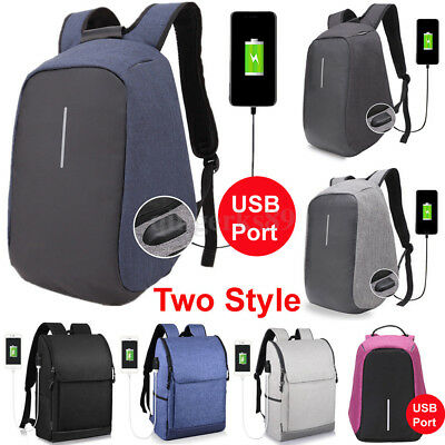 Anti-Theft Backpack Design USB Port Bobby Travel Oxford School Bags Hot Fashion