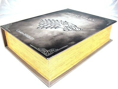 Game Of Thrones House Stark Storage Book Box Home Organiser Toy Gift Present