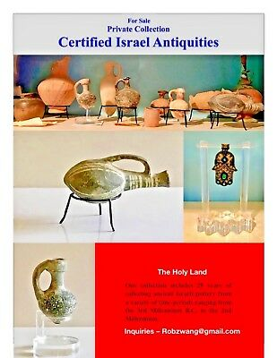 Private Collection – Certified Israel Pottery Antiquities