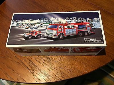 HESS  Emergency Truck & Rescue Vehicle NEW IN THE BOX NEVER USED Never Opened
