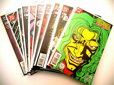 The Creeper First Issue 1 Plus 2,3,4,5,6,7,8,9,10 Dc Comics Total 10 Unread