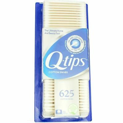 QTips Cotton Swab Size 625ct QTips, Pack of 4  {Imported from Canada}