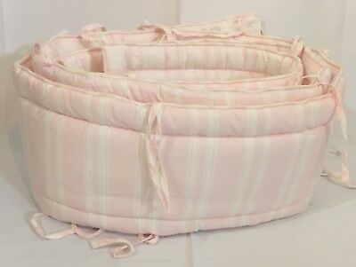 Pottery Barn Kids Taylor Gray Elephant Baby Crib Bumper 32 89